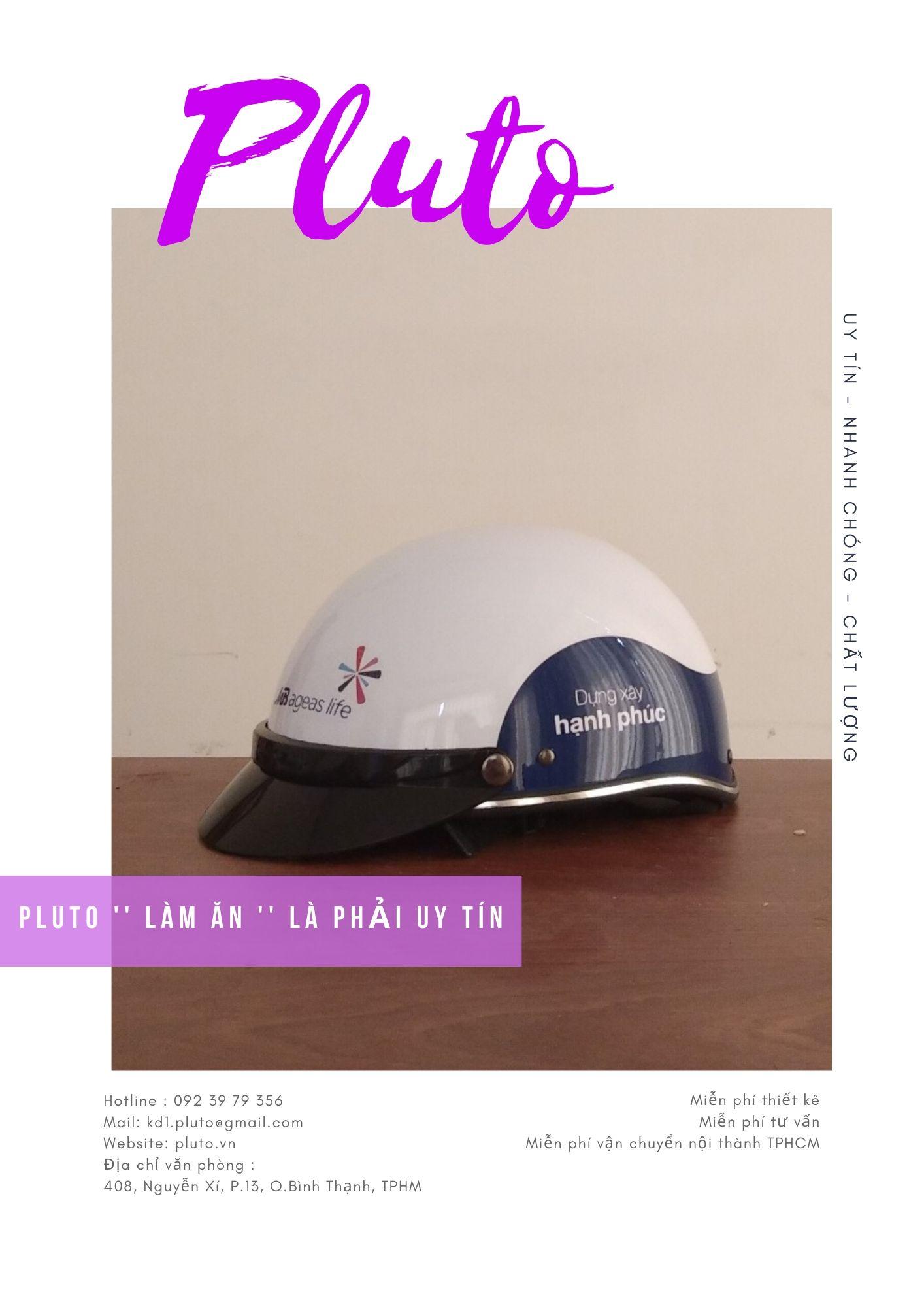 In logo nón bảo bảo hiểm