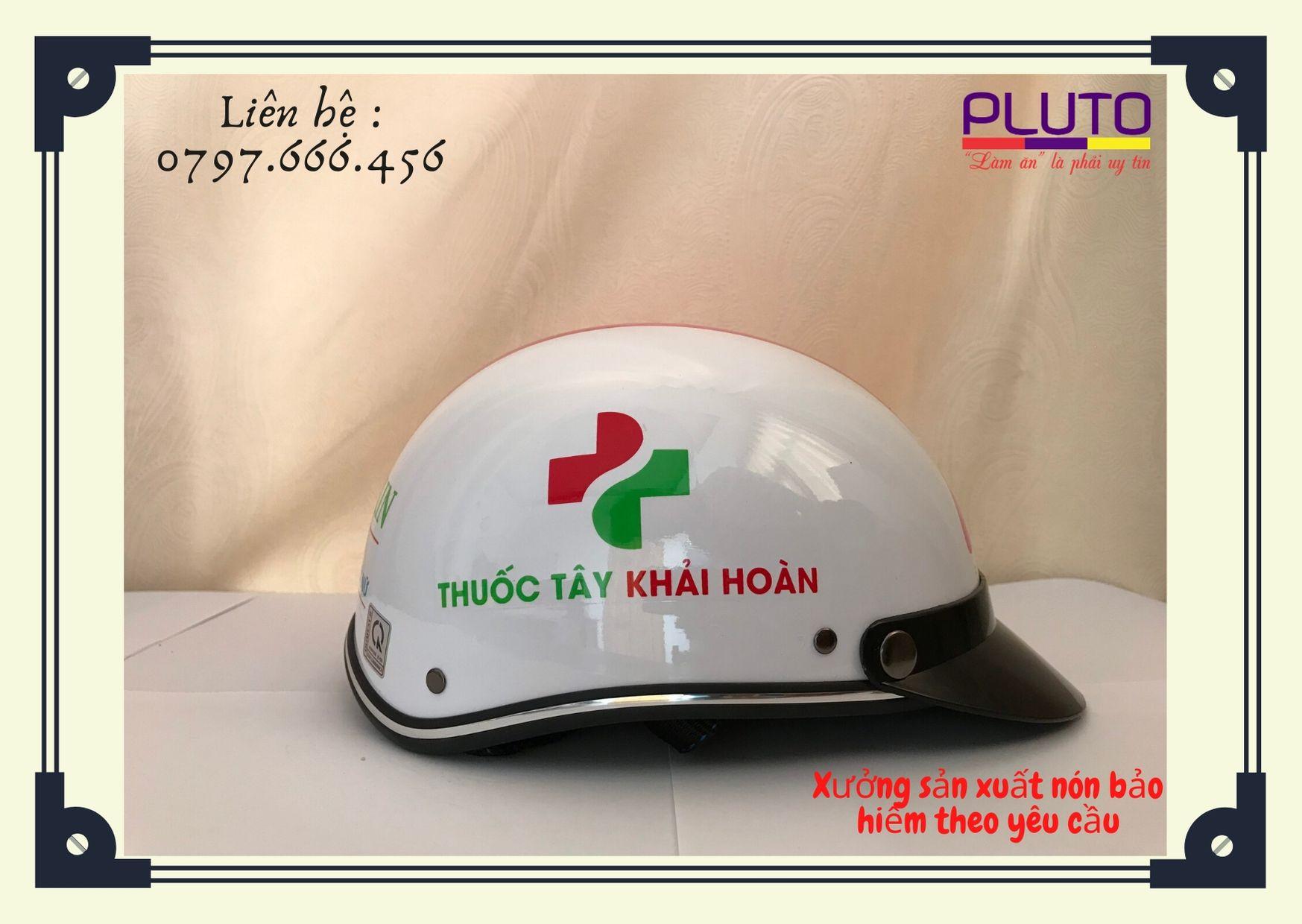 quảng cáo mũ bảo hiểm