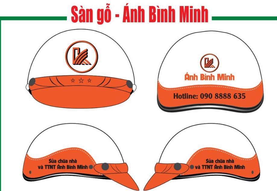thiết kế nón bảo hiểm