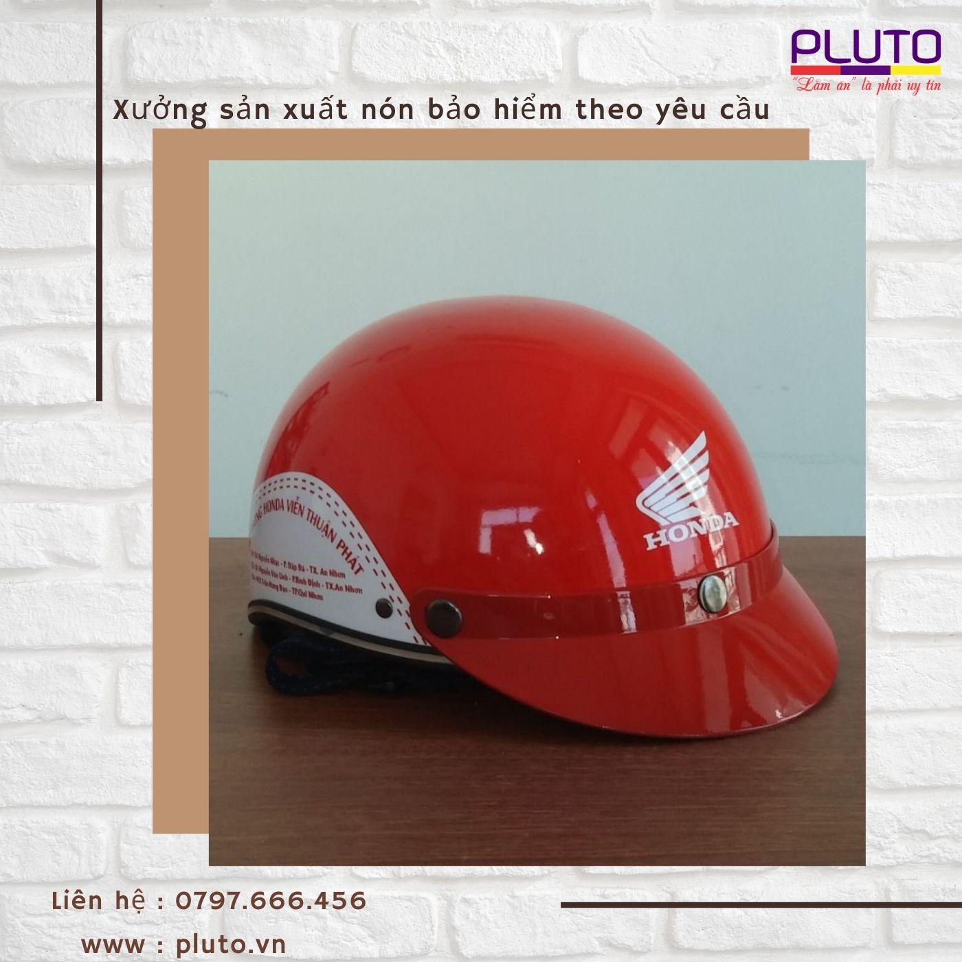 Sản xuất nón bảo hiểm quà tặng