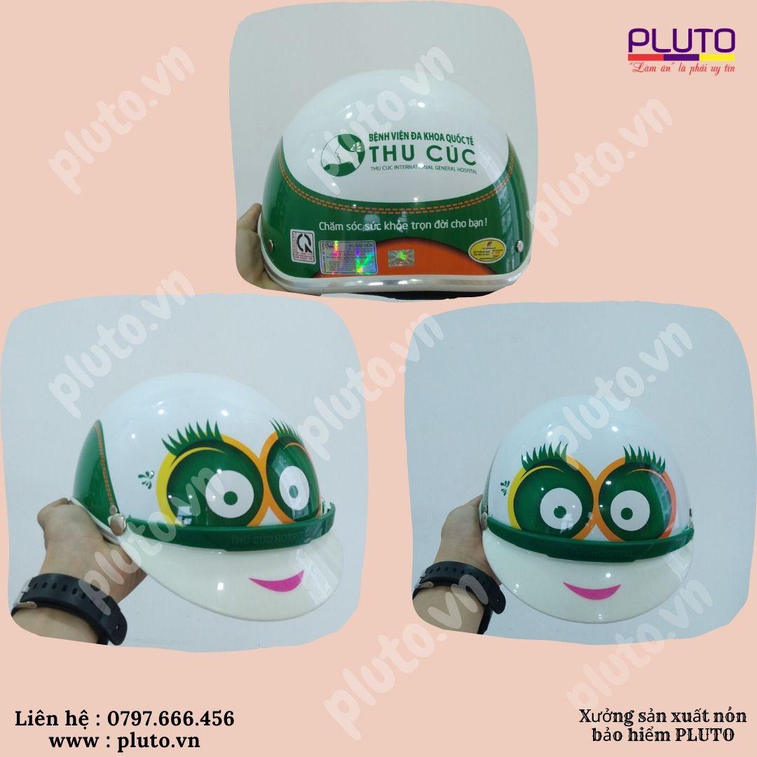 mũ bảo hiểm trẻ em in logo theo yêu cầu