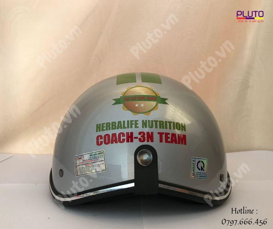 mũ bảo hiểm in logo doanh nghiệp