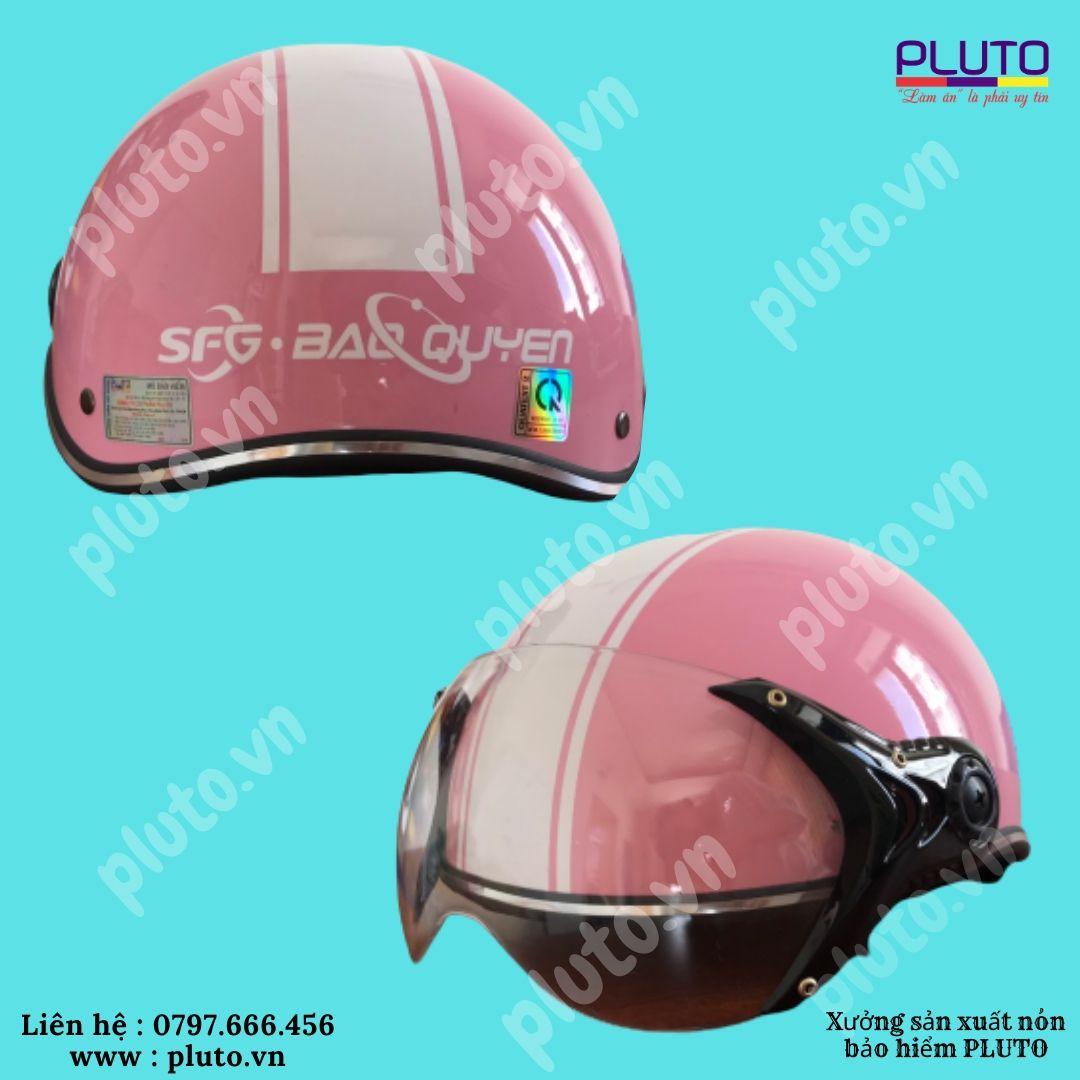 Mũ bảo hiểm quảng cáo chất lượng