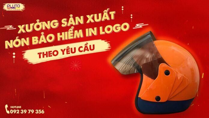Xưởng sản xuất mũ bảo hiểm in logo theo yêu cầu