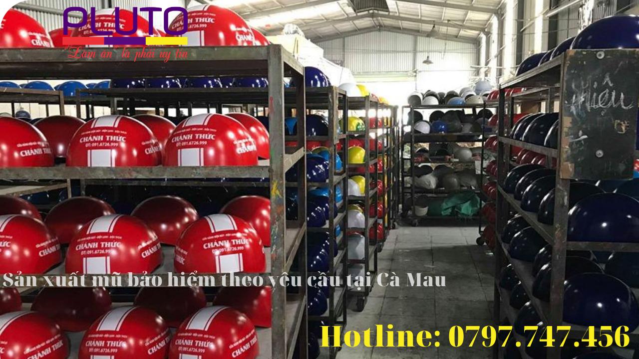 xưởng sản xuất mũ bảo hiểm theo yêu cầu tại cà mau